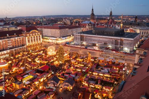 Wall Murals Prague Weihnachtsmarkt in Dresden