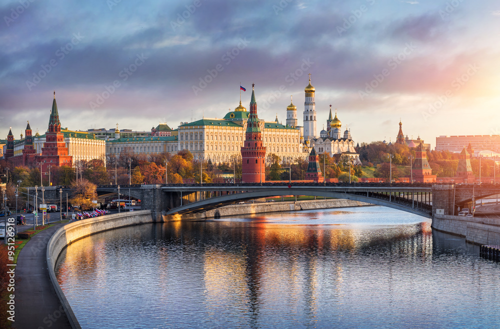 фотография  Доброе утро Москва Good morning Moscow