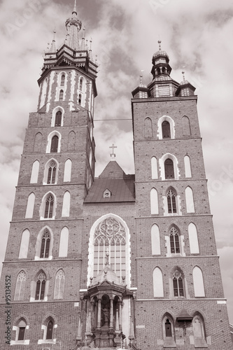 Mariacka Basilica Church; Krakow; Poland #95134552
