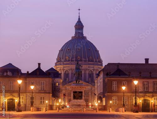 Photo  Traveling in the famous Frederiks Kirke, Copenhagen