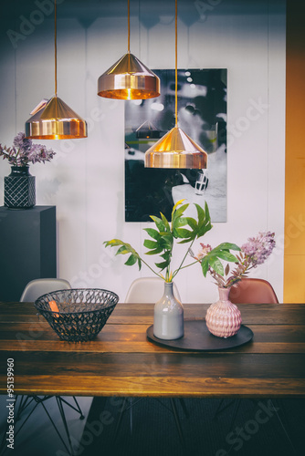 Fotografia, Obraz  table in home interior