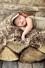 Little Child Sleepieng On The ...