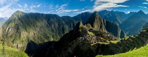 Zdjęcie XXL Panorama Machu Picchu, Peru