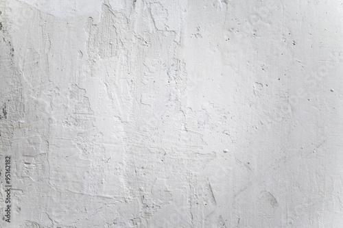 Foto op Plexiglas Wand Grungy White Concrete Wall Background