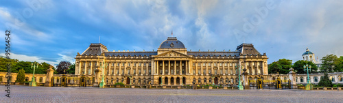 Tuinposter Brussel The Royal Palace of Brussels - Belgium