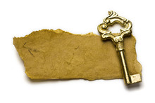 Close Up View Of The Old Key O...
