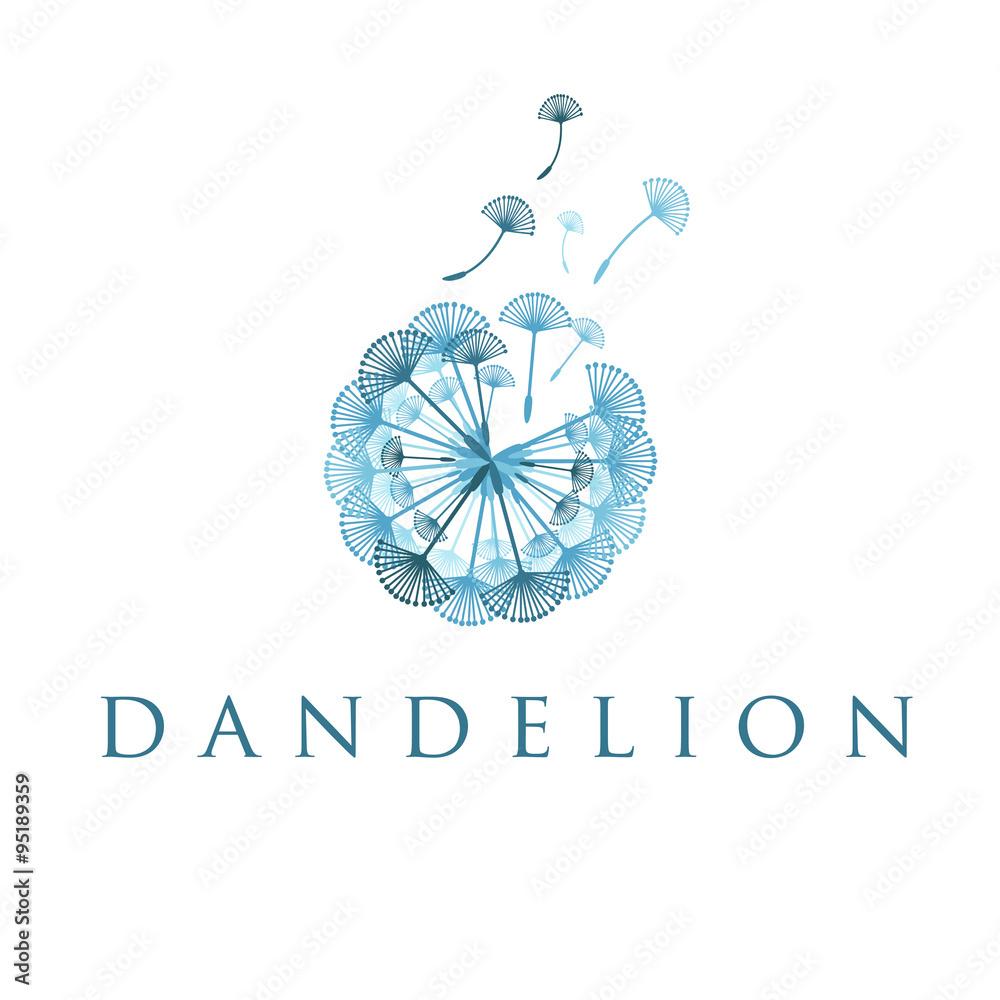 Fototapety, obrazy: Illustration of concept dandelion. Vector
