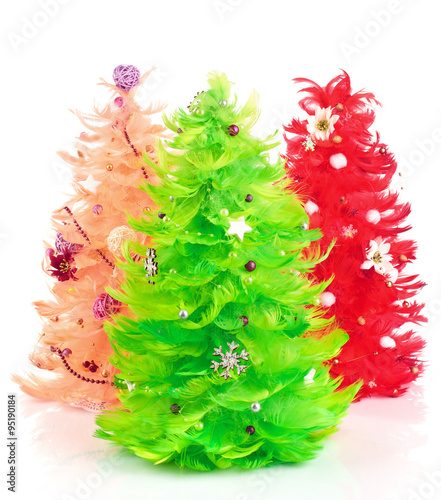 Acrylic Prints Roe Christmas trees
