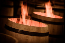 Barrel Making In Bordeaux Wine...