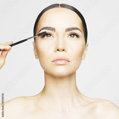 Fotografie, Tablou  Eye makeup