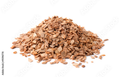 Valokuva  Pile of wood chips