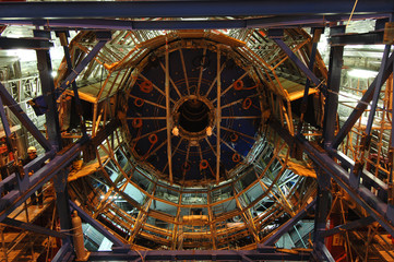 Plakat Large Hadron Collider (LHC)