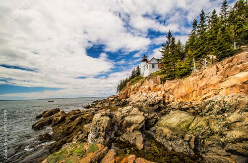 Fotografie, Obraz  Bass Harbor Lighthouse, Acadia National Park, Maine, USA