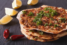 Lahmacun - Turkish Pizza Close...