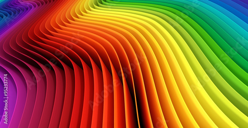 Staande foto Abstract wave Abstract spectrum background