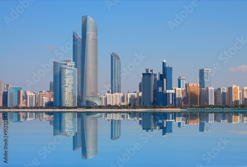 Canvas Prints Abu Dhabi Abu Dhabi Skyline