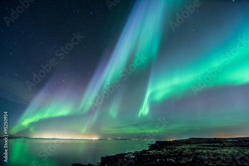 Iceland Aurora Borealis1 Poster
