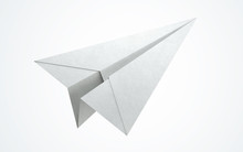 Paper Airplane Flying