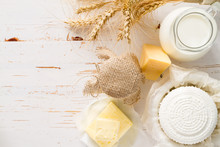 Selection Of Dairy Products