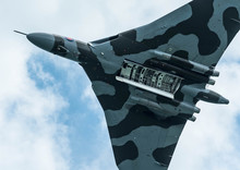 Vulcan Bomber At The Eastbourn...