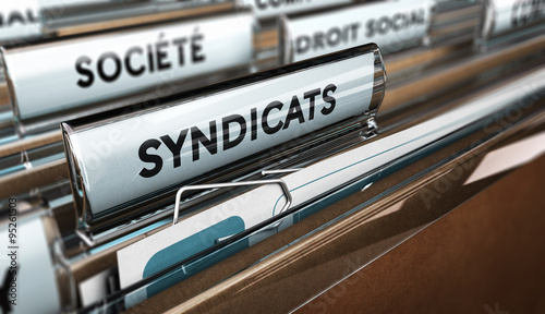 Syndicats ouvriers Wallpaper Mural