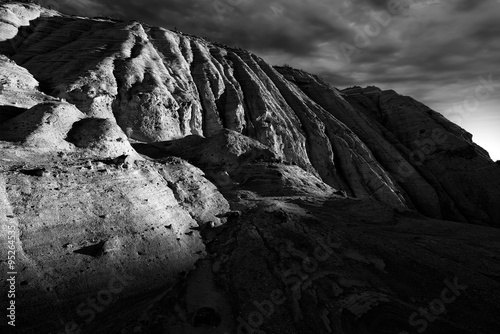 фотография  Tent Rocks Canyon at Sunrise