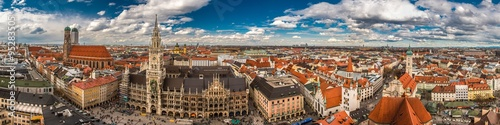 Foto op Canvas Panoramafoto s München Panorama