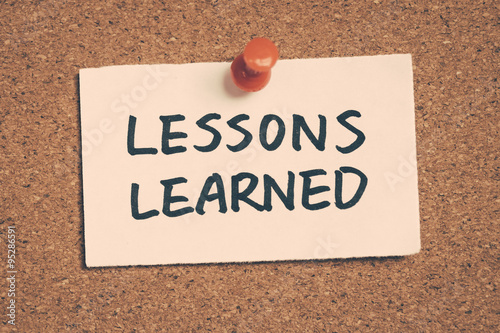 Vászonkép lessons learned