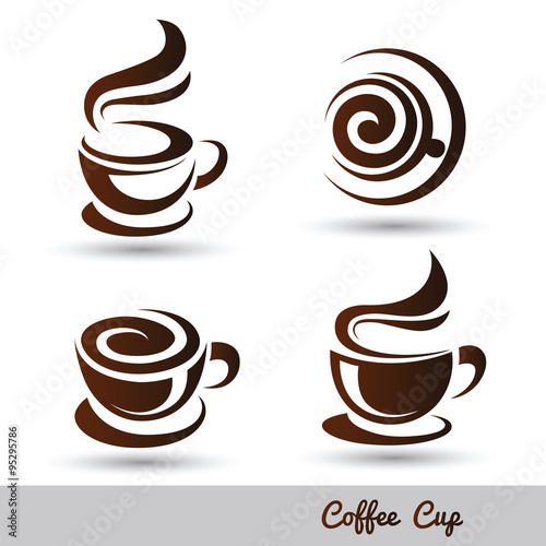 coffee cup Fototapete
