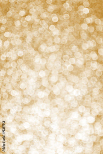 Photo  Sparkle Champagne Color New Year's Eve Background. New Year