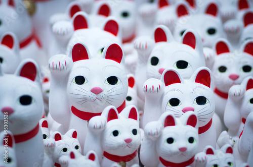 Goutokuji-temple Beckoning cat,tokyo,japan(豪徳寺の招き猫) - 95303526