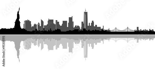Fototapeta Skyline New York City obraz