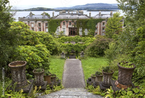 Bantry House, County Cork, Ireland. Wallpaper Mural