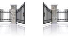 Open Iron Gate