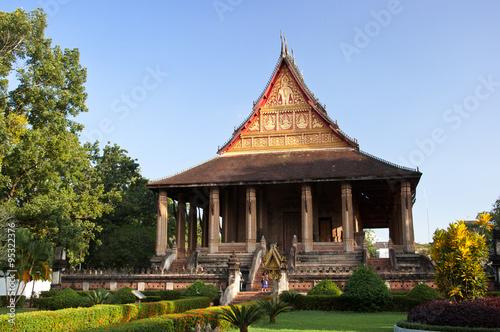 Foto  Temple of the Emerald Buddha Laos