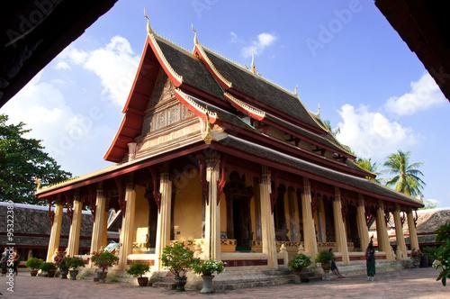 Foto  Wat Sisaket temple in Vientiane