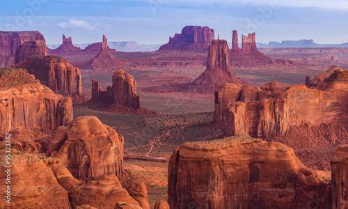 Canvas Prints Arizona Sunrise at Hunts Mesa viewpoint