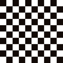 Chess Board Black With White Stylish Background