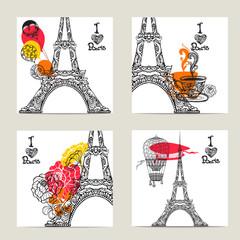 Paris Card Set