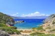 Wild beach on the island of Crete. Greece.