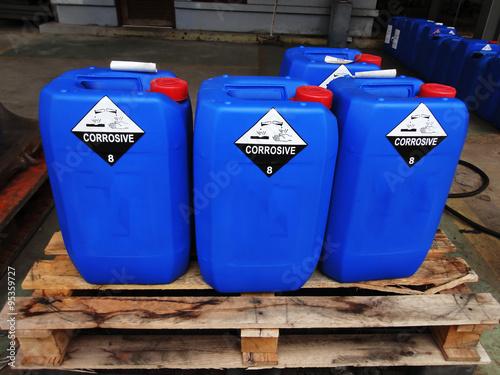 Fotografia  Chemical tank