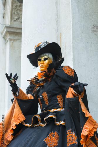 Fototapeta Maschera del carnevale di Venezia