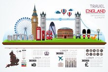 Info Graphics Travel And Landm...