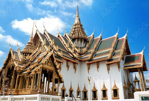 In de dag Bangkok Grand Palace, Bangkok , Тhailand