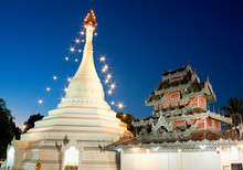 Temple Of Phra That Doi Kong Mu, Province Mae Hong Son, Thailand