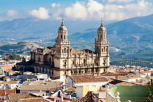 Cathedral In Jaen. Andalusia, ...