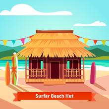 Surfers Lagoon Beach Hut With ...