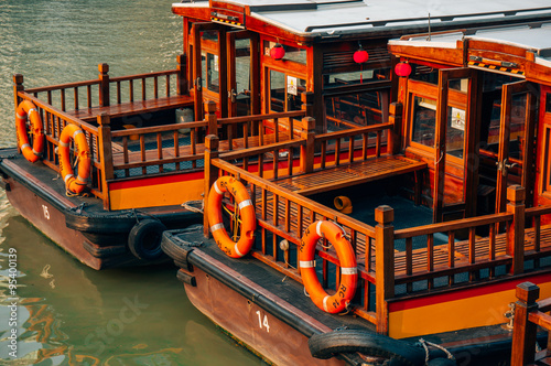 Photo  SINGAPORE - SEP 09: Clarke Quay is a historical riverside quay on Sep 09, 2012 in Singapore