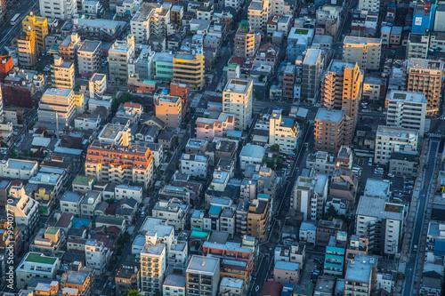 Tokyo Buildings Japan Poster