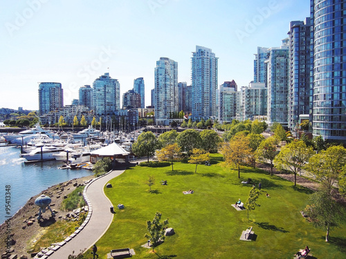 Fototapeta premium Miasto Vancouver Yale